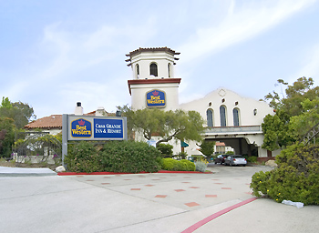Best western casa grande inn arroyo grande california for Best western pismo