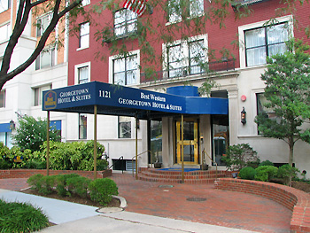 best western georgetown hotel suites washington d c
