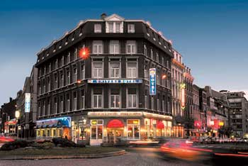 Best western univers hotel liege belgium best western for Top design hotels belgium