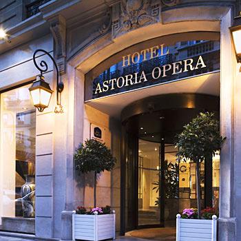 Hotel Astoria Opera Paris France Astotel Hotels In