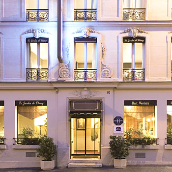 Best western hotels in latin quarter paris with world for Best western le jardin de cluny tripadvisor