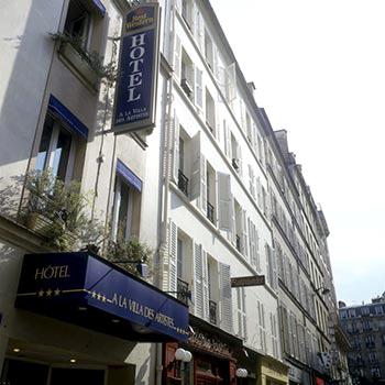 Best Western Villa Des Artistes Paris France Best