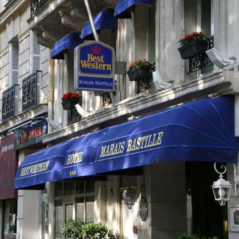 Best Western Hotels In Bastille Paris With World
